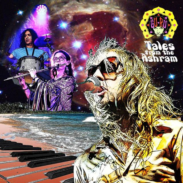 GU-RU - 'Tales From The Ashram' Front Cover